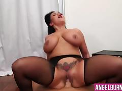 Sheridan Love getting her big tight ass drilled hard porn tube video