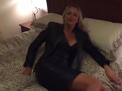 Black Leather Bedroom porn tube video