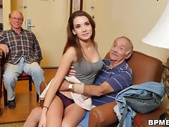 Teen Naomi Alice Takes Her First Old Cock porn tube video