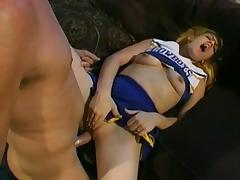 Crazy pornstar Amber Lee in incredible cunnilingus, blonde xxx movie