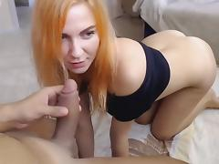 Pretty Babe Hunry for Big Dick and Sperm porn tube video