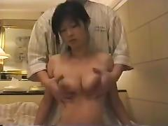Affair of beautiful Japanese wife