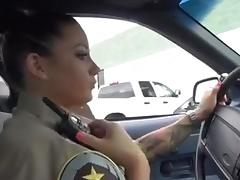 Cop, Big Tits, Cop, Hardcore, Interracial, Police