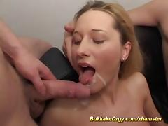 Bukkake, Amateur, Bukkake, Fucking, German, Group