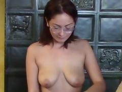SHE LIKES TO PLAY WITH HIS COCK
