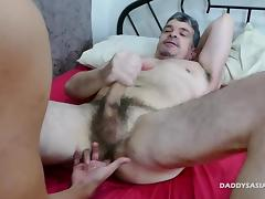 Asian Old and Young, Asian, Fucking, Gay, Old and Young, Dad