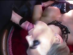 Stunning lady in a nice outfit craves to be plowed hardcore porn tube video