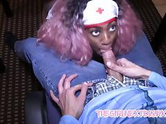 Diamond Ortega Sperm Bank Blow Job porn tube video