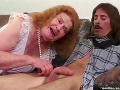 Toothless Granny Sucks And Fucks porn tube video