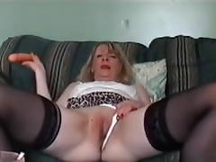sexy glasgow milf toying and sucking cock tube porn video