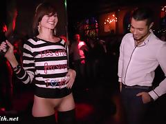 Jeny Smith goes naked at sex party porn tube video