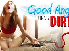 Virtual Porn 360  Good Angel Turns Ditty