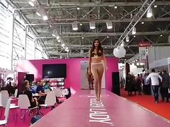 Catwalk Pantyhose fashion show