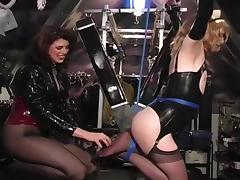 Cross Dresser Tickled With A Toothbrush porn tube video