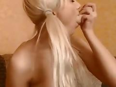 Deepthroat and fising porn tube video