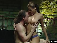 Nice ass model anal getting refined hardcore doggystyle