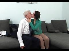 Taboo, Big Tits, Blowjob, Boobs, Grandpa, Old Man