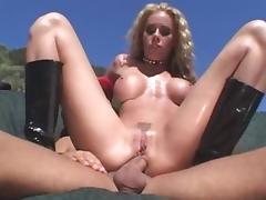 Horny pornstar Nicole Sheridan in exotic outdoor, blonde adult scene porn tube video