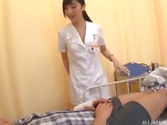 Being fucked by a randy patient is what a cute nurse craves porn tube video