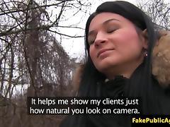Pickedup euro amateur cocksucks on backseat tube porn video