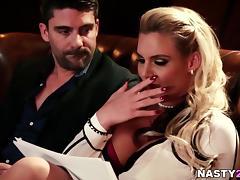 Phoenix Marie fucks her husband's brother tube porn video