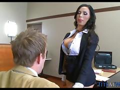 Big Tits in the Courtroom porn tube video
