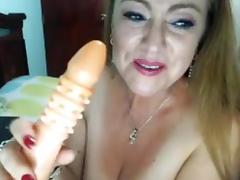 Big Tits Latino Milf On WebCam