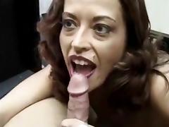 Big Tits, Big Tits, Blowjob, Redhead, Long Nails