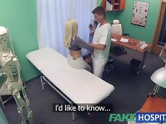 Fake Hospital Hot Italian babe with big tits