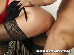 Hairy chubby stepmom taking cock in mouth too hot tehn get tube porn video