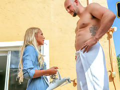 Brice Bardot in Alone With A Drone - ExxxtraSmall porn tube video