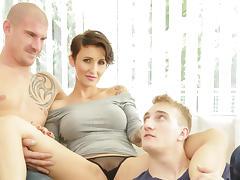 Gabrielle Gucci & Max Born & Ryan Torres in Bi Sexual Cuckold #09 - BiEmpire tube porn video