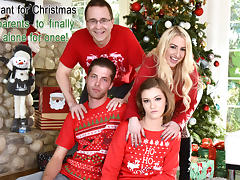 Riley Mae in Heathenous Family Holiday Card - FamilyStrokes tube porn video