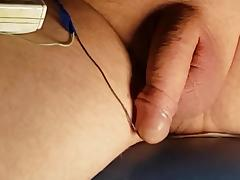 Electro cumming tube porn video