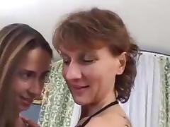 Lesbians mature and girl