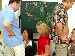 Celine Noiret participates in a quick classroom sex session porn tube video
