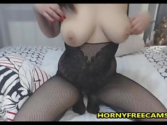This Busty Babe Is Really Passionate About Masturbation