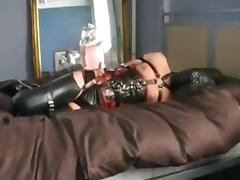 Bondage, Bondage, Rubber, Teen, Hogtied