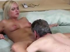 Grandfather and chick tube porn video