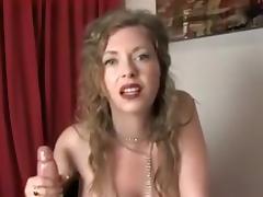Naughty busty MILF JOI porn tube video