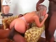 Mom and two blacks porn tube video