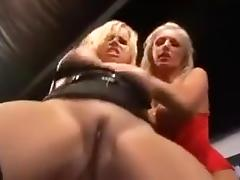 Blond and their slave