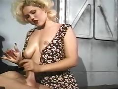 A Busty Blonde Gives A Firm Handjob porn tube video
