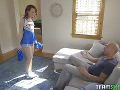 Blowjob, Blowjob, Cheerleader, Couple, Cowgirl, Doggystyle