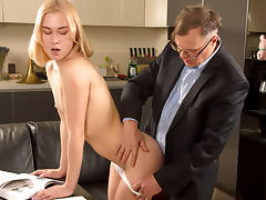 Via Lasciva in Old teacher treats her sexy student properly. - TrickyOldTeacher