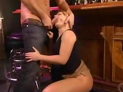 Dirty Slut Gives Great Head And Cleans Up The Mess
