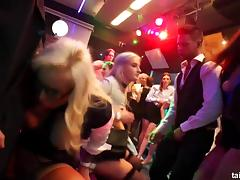 Excited pornstars fucks in club porn tube video
