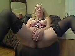 Horny milf gets off with her k9 toy