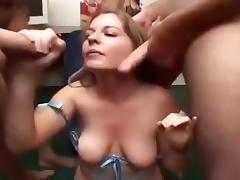 Blonde fan of swallowing men soczkow porn tube video
