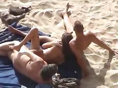 Sex at the beach porn tube video